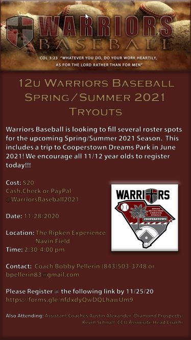 Warriors20tryout12u